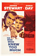 "Movie Posters:Hitchcock, The Man Who Knew Too Much (Paramount, 1956). One Sheet (27"" X41"").. ..."