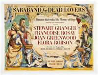 """Saraband for Dead Lovers (Ealing, 1948). British Quad (30"""" X 40"""")"""