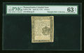 Colonial Notes:Pennsylvania, Pennsylvania April 25, 1776 4d PMG Choice Uncirculated 63 EPQ....