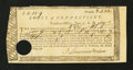 Colonial Notes:Connecticut, Connecticut Treasury Office. June 1, 1782. Extremely FineChoice....