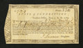 Colonial Notes:Connecticut, Connecticut Treasury Office. June 1, 1782. Very Fine....