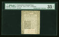 Colonial Notes:Connecticut, Connecticut June 1, 1775 10s Uncanceled PMG Choice Very Fine 35Net....