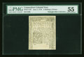 Colonial Notes:Connecticut, Connecticut June 7, 1776 2s/6d Uncanceled PMG About Uncirculated55....