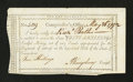 Colonial Notes:Connecticut, Connecticut Interest Payment Certificate. May 26, 1792. ChoiceAbout New....