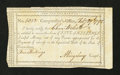 Colonial Notes:Connecticut, Connecticut Interest Payment Certificate. February 29, 1792.Extremely Fine....