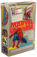 Memorabilia:Trading Cards, Marvel Universe Series II Trading Card Box (Impel, 1991)....