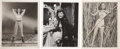 Memorabilia:Movie-Related, Movie Starlet Photo Group (undated).... (Total: 3 Items)