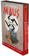 Memorabilia:Miscellaneous, Maus: A Survivor's Tale by Art Spiegelman Two Volume Set(Pantheon, 1991)....