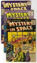 Golden Age (1938-1955):Science Fiction, Mystery in Space Group (DC, 1956-58).... (Total: 4)