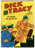 Golden Age (1938-1955):Crime, Four Color (Series One) #1 Dick Tracy (Dell, 1939) Condition: Apparent VG....