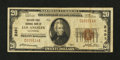 National Bank Notes:California, Los Angeles, CA - $20 1929 Ty. 1 Security-First NB Ch. # 2491. ...