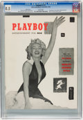 Magazines:Miscellaneous, Playboy #1 Page 3 Copy (HMH Publishing, 1953) CGC VF+ 8.5 White pages....