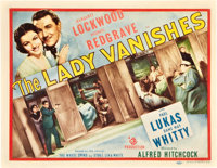 "The Lady Vanishes (Gaumont, 1938). Title Lobby Card (11"" X 14"")"