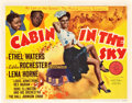 """Movie Posters:Musical, Cabin in the Sky (MGM, 1943). Title Lobby Card (11"""" X 14"""").. ..."""