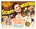 "Movie Posters:Musical, Stormy Weather (20th Century Fox, 1943). Title Lobby Card (11"" X14"").. ..."