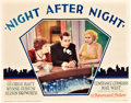 "Movie Posters:Drama, Night After Night (Paramount, 1932). Lobby Card (11"" X 14"").. ..."