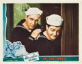 """Movie Posters:Comedy, In the Navy (Universal, 1941). Lobby Card (11"""" X 14"""").. ..."""