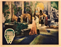 "White Zombie (United Artists, 1932). Lobby Card (11"" X 14"")"