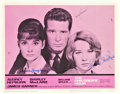 "Movie Posters:Drama, The Children's Hour (United Artists, 1962). Autographed Lobby Card (11"" X 14"").. ..."
