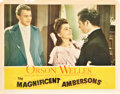 "Movie Posters:Drama, The Magnificent Ambersons (RKO, 1942). Lobby Cards (3) (11"" X14"").. ... (Total: 3 Items)"