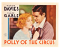 """Movie Posters:Drama, Polly of the Circus (MGM, 1932). Lobby Card (11"""" X 14"""").. ..."""