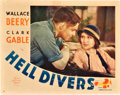 "Movie Posters:Adventure, Hell Divers (MGM, 1932). Lobby Card (11"" X 14"").. ..."