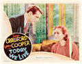 "Movie Posters:Romance, Today We Live (MGM, 1933). Lobby Cards (2) (11"" X 14"").. ...(Total: 2 Items)"
