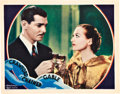 """Movie Posters:Drama, Chained (MGM, 1934). Lobby Card (11"""" X 14"""").. ..."""