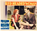 "Movie Posters:Comedy, Red Headed Woman (MGM, 1932). Lobby Card (11"" X 13.25"").. ..."