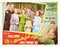 "Movie Posters:Drama, It's a Wonderful Life (RKO, 1946). Autographed Lobby Card (11"" X14"").. ..."