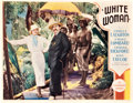 "Movie Posters:Drama, White Woman (Paramount, 1933). Lobby Card (11"" X 14"").. ..."