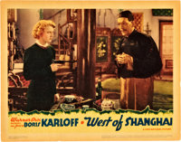 "West of Shanghai (Warner Brothers, 1937). Lobby Card (11"" X 14"")"
