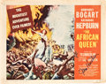 """Movie Posters:Adventure, The African Queen (United Artists, 1952). Autographed Title LobbyCard (11"""" X 14"""").. ..."""
