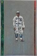 Baseball Collectibles:Others, Rube Foster Original Painting....
