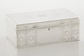 Silver Holloware, American:Boxes, AN AMERICAN SILVER CIGAR BOX. Tiffany & Co., New York, NewYork, 1905. Marks: TIFFANY & CO., STERLING SILVER, 925-1000,16...