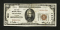 National Bank Notes:Colorado, Silverton, CO - $20 1929 Ty. 1 The First NB Ch. # 2930. ...