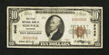 National Bank Notes:Colorado, Sedgwick, CO - $10 1929 Ty. 1 The First NB Ch. # 9045. ...