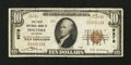 National Bank Notes:Colorado, Holyoke, CO - $10 1929 Ty. 1 The First NB Ch. # 9278. ...
