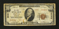 National Bank Notes:Colorado, Fruita, CO - $10 1929 Ty. 2 The First NB Ch. # 8840. ...