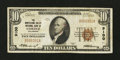 National Bank Notes:Colorado, Cortez, CO - $10 1929 Ty. 1 The Montezuma Valley NB Ch. # 9100. ...