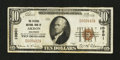 National Bank Notes:Colorado, Akron, CO - $10 1929 Ty. 1 The Citizens NB Ch. # 10901. ...
