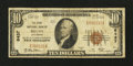 National Bank Notes:Colorado, Brush, CO - $10 1929 Ty. 1 The First NB Ch. # 6437. ...