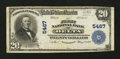 National Bank Notes:Colorado, Delta, CO - $20 1902 Plain Back Fr. 659 The First NB Ch. # 5467....