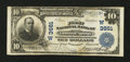 National Bank Notes:Colorado, Glenwood Springs, CO - $10 1902 Plain Back Fr. 626 The First NB Ch.# (W)3661. ...