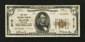 National Bank Notes:Colorado, Olathe, CO - $5 1929 Ty. 2 The First NB Ch. # 9719. ...
