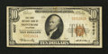 National Bank Notes:Colorado, Montrose, CO - $10 1929 Ty. 1 The First NB Ch. # 4007. ...