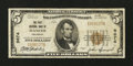 National Bank Notes:Colorado, Mancos, CO - $5 1929 Ty. 1 The First NB Ch. # 9674. ...