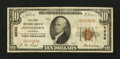 National Bank Notes:Colorado, Johnstown, CO - $10 1929 Ty. 1 The First NB Ch. # 8636. ...