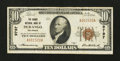 National Bank Notes:Colorado, Durango, CO - $10 1929 Ty. 1 The Burns NB Ch. # 9797. ...