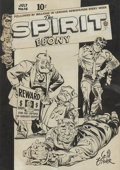 Original Comic Art:Covers, Will Eisner The Spirit #16 Cover Original Art (Quality,1949)....